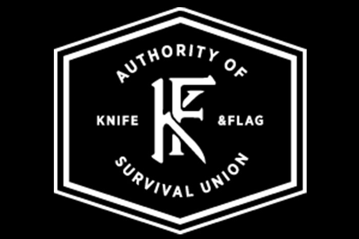 Knife and Flag